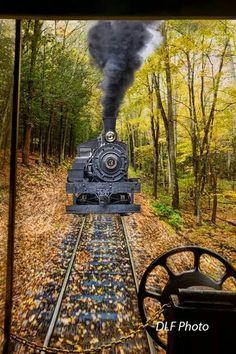 Cass Railroad in West Virginia by Dan Friend