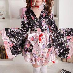 506c199e836c3 Japanese Sakura Kimono Dress SD00348