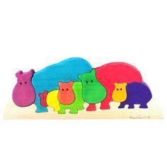 Super Cute Hippo Puzzle