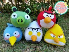 Angry Birds por Ateliê Patty fazendo Arte