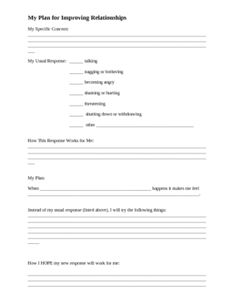 A solution focused brainstorm and action plan Students may use this worksheet… Counseling Worksheets, Therapy Worksheets, Therapy Activities, Relationship Therapy, How To Improve Relationship, Relationships, Wellness Recovery Action Plan, Solution Focused Therapy, Relapse Prevention