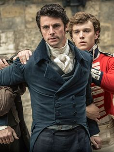 Matthew Goode as George Wickham in Death Comes to Pemberley (TV Mini-Series, 2013).