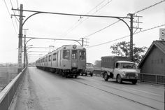 Toyota Dyna, Commuter Train, Trains, Background Images, Tokyu, Vintage Photos, Japanese, History, Street