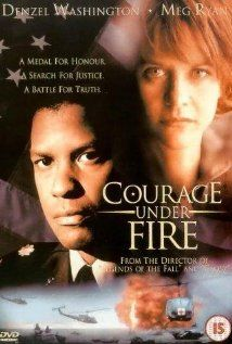 Courage Under Fire - Meg Ryan & Denzel Washington ~ A US Army officer, despondent about a deadly mistake he made, investigates a female chopper commander's worthiness for the Medal of Honor. Denzel Washington, Meg Ryan, Fire Movie, Movie Tv, Internet Movies, Movies Online, Movies Worth Watching, About Time Movie, Movie Collection