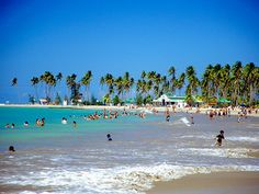 Puerto Rico Beaches | Luquillo is located in the northeast coats, northwest of Fajardo; and ...