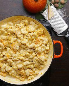 Pumpkin Mac 'n' Cheese Recipe by Tasty