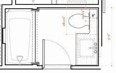 63 Best 5x7 bathroom layout images in 2019 | Bathroom ...