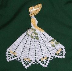 Ms Lily Crinoline Girl Doily-crochet pattern to buy