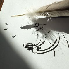 Shadowology, i doodles che giocano con le ombre di Vincent Bal | Collater.al