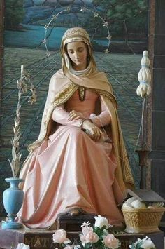 Mater Admirabilis also called The Pink Madonna Catholic Pictures, Jesus Pictures, Blessed Mother Mary, Blessed Virgin Mary, Hail Holy Queen, Queen Of Heaven, Mama Mary, Immaculate Conception, Mary And Jesus