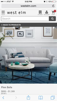 West Elm / Finn Sofa