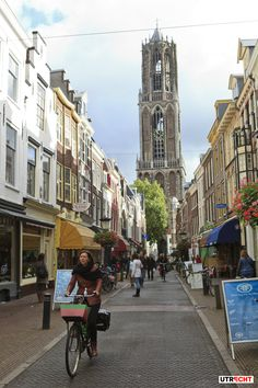 Shopping and Cycling - we love it! #zadelstraat #Utrecht