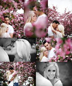 """a little too much pink for me, but love the """"collage"""" feel & the blk &wht pics mixed w/ color"""