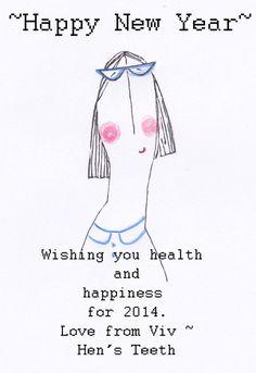 hens teeth :: happy new year