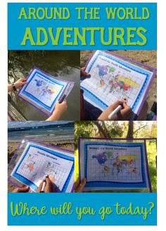 Around the World Adventures: Geography, Math and Maps Distance Learning Games Social Economics, Continents And Oceans, Map Games, Ocean Room, Adventure World, Area And Perimeter, Teaching Geography, Math Skills, Learning Games