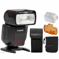 Canon Speedlite 430EX III-RT Flash for Canon EOS Rebel Cameras