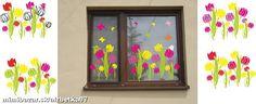 Jarné letné dekorácie obľúbené tulipániky