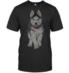 Husky Info Graphic T Shirt Husky Guy, Infographic, Mens Tops, T Shirt, Color, Style, Fashion, Supreme T Shirt, Swag