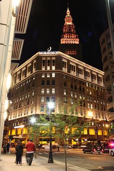 The old Higbee Department Store (now Horseshoe Casino), Prospect & Ontario in downtown Cleveland, Ohio.