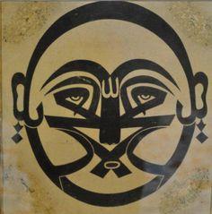 insan-ı kamil - gubari hat örneği.. Arabic Calligraphy Art, Symbolic Tattoos, Tribal Tattoos, Persian, Mystic, Spirituality, My Favorite Things, History, Pictures