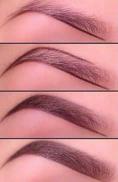 How to achieve the perfect eyebrows. . .