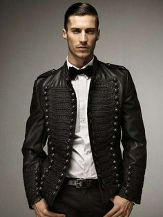 Dapper Classics Zara Menswear military-inspired style . formal
