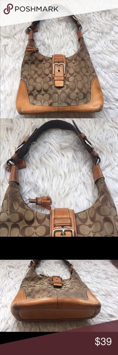 Coach Coach a little damaged as you can see in pictures l13x9 1/2 strap drop 10 1/2 Coach Bags Shoulder Bags