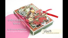 Gift Card Box Video Tutorial By Alexandra Morein Product: Graphic 45 Collection: Winter Wonderland Gift Card Boxes, Visa Gift Card, Small Gift Boxes, Winter Wonderland, Wonderland 2017, Gift Cards Money, Graphic 45, Christmas Fun, Christmas Cards