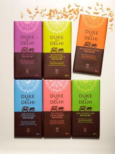 Bright Greens Brands takes the rich culture of India and puts it into Duke  of Delhi's branding and packaging design.: