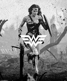 Gal Gadot as Wonder Woman Wonder Woman Art, Gal Gadot Wonder Woman, Wonder Woman Movie, Wonder Women, Dc Comics, Gal Gabot, Chica Fantasy, Dc World, Deadpool