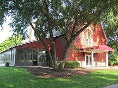 Tanglewood Park - Red Barn, Clemmons NC | Winston-Salem, Triad, Wedding Venue |
