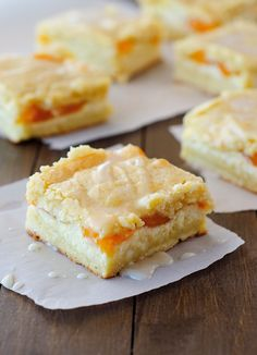Peaches and Cream Bars are so simple to make but are always impressive! Substitute with your favorite pie filling to change up the flavors!