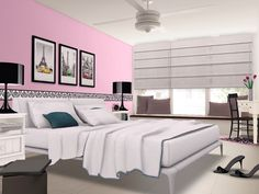 Girly Bedroom http://www.homestyler.com/designstream/redirector?id=6d198cbd-087d-4a7c-a5ef-6686fa302016_type_1&track=ios_share