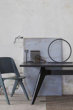 Sanna Luhaniemi / Himmee + Poiat Furniture Collection, Drafting Desk, Interior, Home Decor, Decoration Home, Room Decor, Design Interiors, Interiors, Interior Design