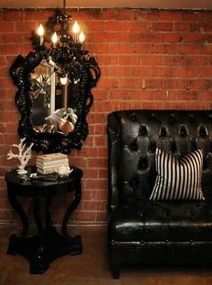 Halloween Decor Ideas - Gothic Elegance Home Decorating