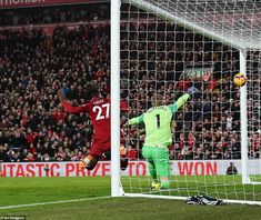 IAN LADYMAN AT ANFIELD: A fiery Merseyside derby had everything at Anfield, as substitute Divock Origi caused shockwaves with a winner in the final seconds of the match. Merseyside Derby, Everton, Liverpool Fc, Soccer, Football, Sports, Sky, Hs Sports, Futbol