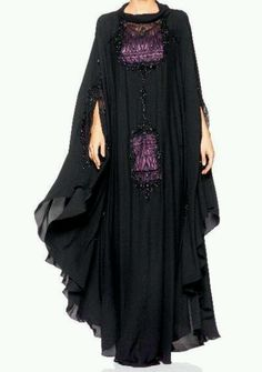 Stunning abaya with contemporary design....