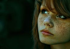 Freckled beauty