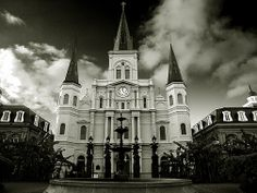 New Orleans' St. Louis Cathedral is said to be haunted by a number of spirits. The most prominent among these is Pere (Father) Dagobert de Longuory, a Catholic priest who arrived from Quebec in 1722.
