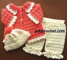 3 Piezas Setbaby pattern_wonderfuldiy2 crochet.