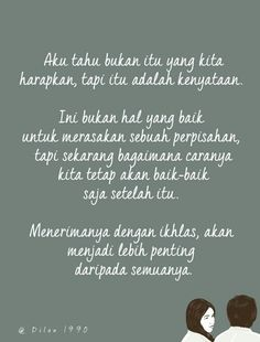 menerima dengan ikhkas akan menjadi lebih penting Rude Quotes, Strong Quotes, Qoutes, Dilan Quotes, Quotes Indonesia, Poetry Quotes, Cool Words, Quotes To Live By, Poems