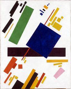 Suprematist Composition, Kazimir Malevich, 1916