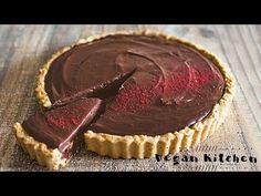 きな粉と豆腐の濃厚コクうまチョコタルト♪: How to make Chocolate tart| Vegan Kitchen with aya...