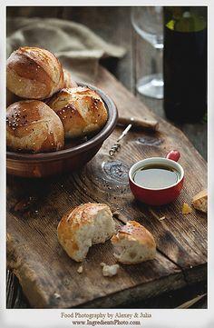 Bread Buns    Food Photography by Alexey & Julia.  www.IngredientsPhoto.com