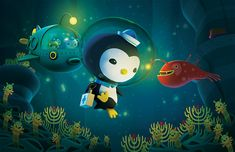 The Octonauts' undersea adventures - animated! by MEOMI, via Flickr