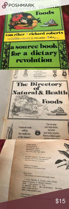 48 yr old guide Directory Of Natural Health foods A vintage 48yr old guide  Directory of Natural Health Foods it's cool and interesting Other