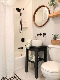 Ideas for small bathroom paint colors rustic Small Bathroom Paint Colors, Small Bathroom Sinks, Small Bathroom Storage, Bathroom Faucets, Bathroom Gray, Bathroom Organization, Pedestal Sink Bathroom, Lavender Bathroom, Small Sink