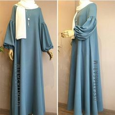 Hijab Fashion Inspiration - Another! Hijab Style Dress, Hijab Chic, Hijab Outfit, Abaya Style, Abaya Fashion, Muslim Fashion, Modest Fashion, Fashion Muslimah, Modest Dresses