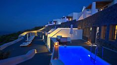 Seize the day properly in stunning Santorini at Carpe Diem, a romantic getaway nestled on picturesque hills in the medieval village of Pyrgos. Hotels And Resorts, Best Hotels, Santorini Luxury Hotels, Places To Travel, Places To Go, Mansion Rooms, Fine Hotels, Senior Trip, Dream Pools