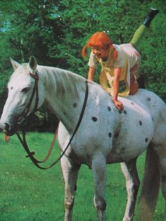 Pippi Longstocking and Horse